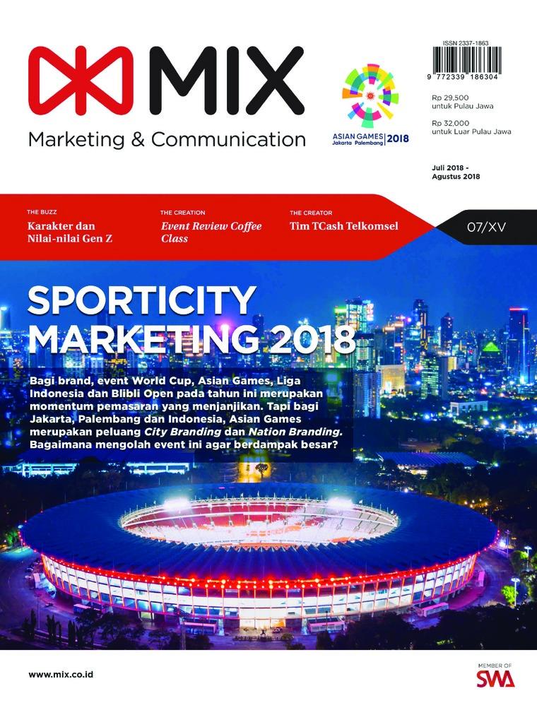 Majalah Digital mix Juli 2018