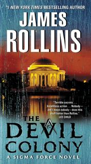 Cover The Devil Colony oleh James Rollins