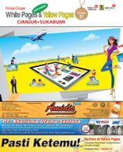 Cover Majalah Yellow Pages – Cianjur-Sukabumi