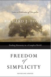 Freedom of Simplicity by Richard J. Foster Cover