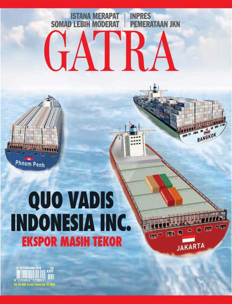 Majalah Digital GATRA ED 15 Februari 2018