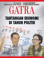 Cover Majalah GATRA ED 10 Januari 2018