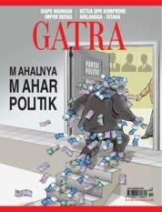 Cover Majalah GATRA ED 12 Januari 2018