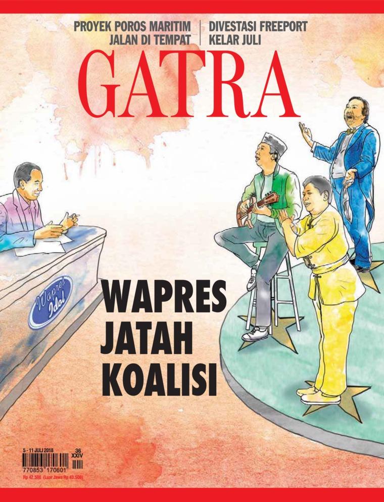 Majalah Digital GATRA ED 36 Juli 2018