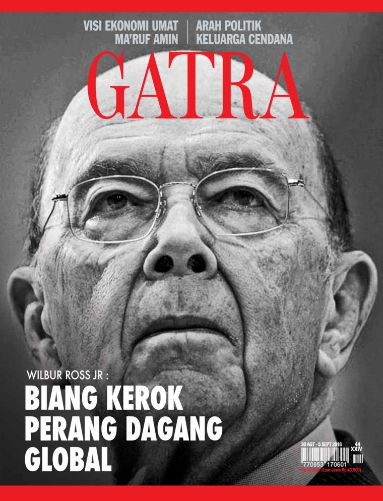 Majalah Digital GATRA ED 44 Agustus 2018