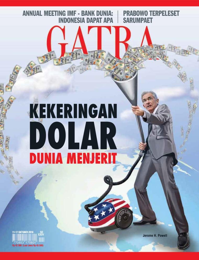 Majalah Digital GATRA ED 50 Oktober 2018