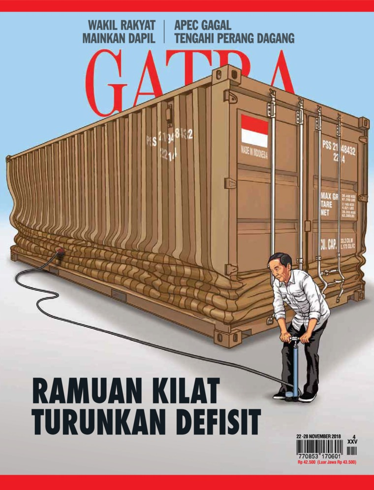Majalah Digital GATRA ED 04 November 2018
