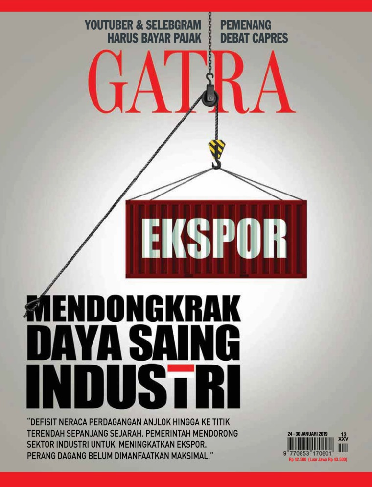 GATRA Digital Magazine ED 13 January 2019