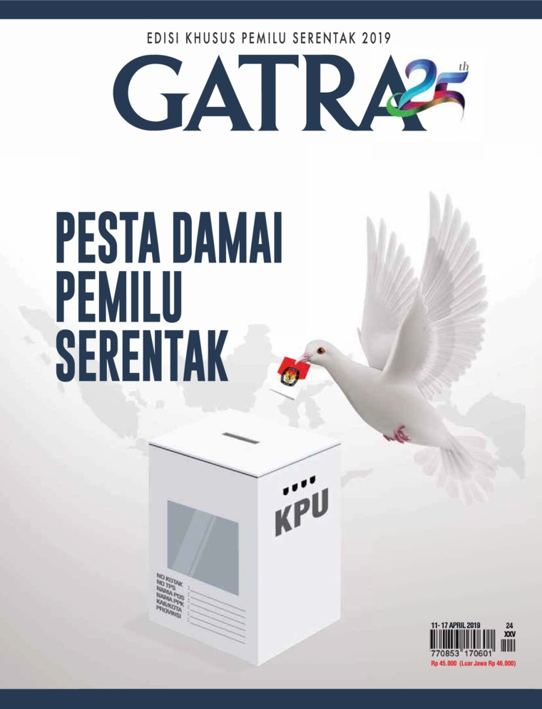 Majalah Digital GATRA ED 24 April 2019