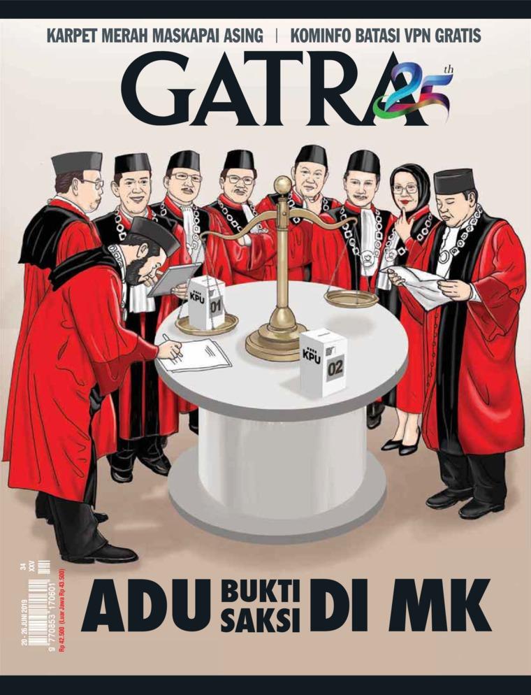 Majalah Digital GATRA ED 34 Juni 2019