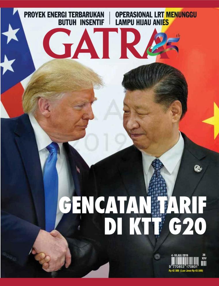 Majalah Digital GATRA ED 36 Juli 2019