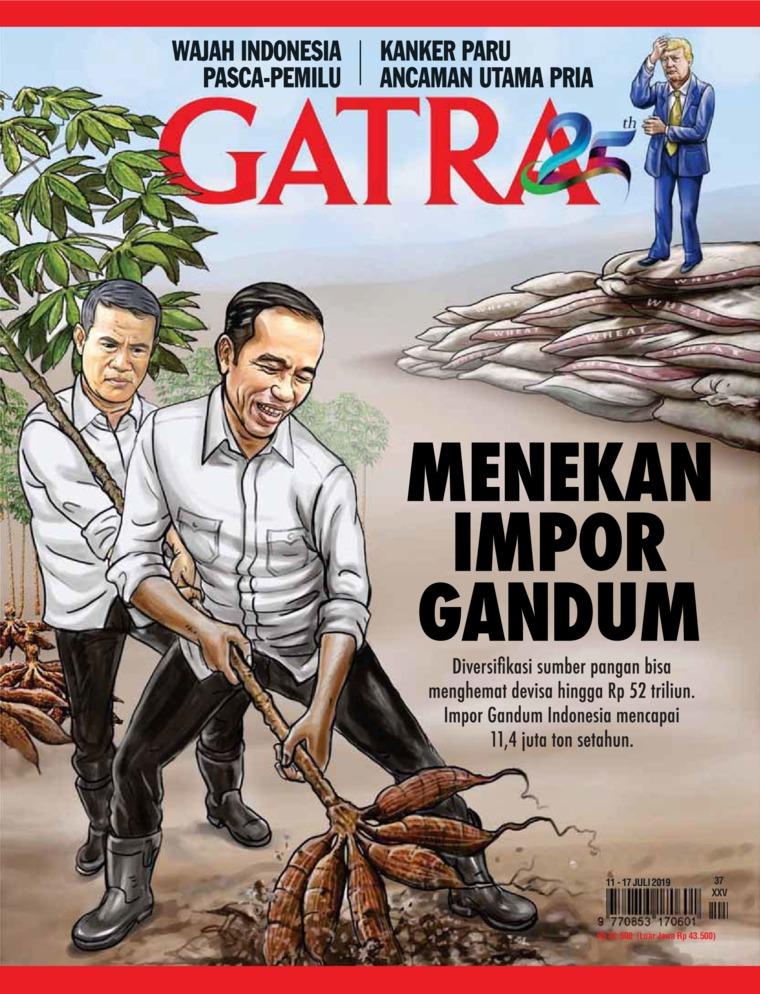 Majalah Digital GATRA ED 37 Juli 2019