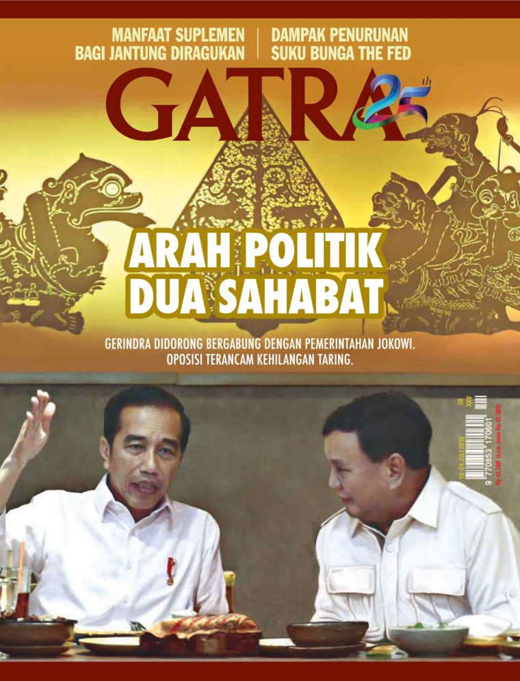 Majalah Digital GATRA ED 38 Juli 2019