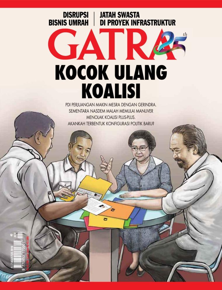 Majalah Digital GATRA ED 40 Agustus 2019