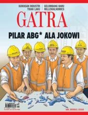 Cover Majalah GATRA ED 13 Januari 2018