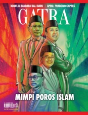 Cover Majalah GATRA ED 20 Maret 2018
