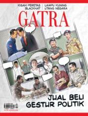 Cover Majalah GATRA ED 21 Maret 2018