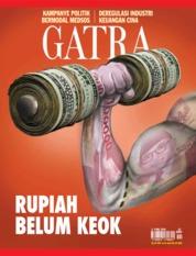 Cover Majalah GATRA ED 27 Mei 2018