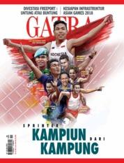Cover Majalah GATRA ED 38 Juli 2018