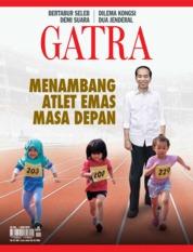 Cover Majalah GATRA ED 39 Juli 2018