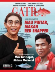 Cover Majalah GATRA ED 40 Agustus 2018