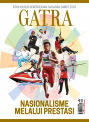 Cover Majalah GATRA ED 42 Agustus 2018
