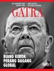 Cover Majalah GATRA ED 44 Agustus 2018