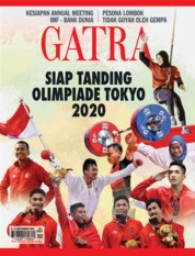 Cover Majalah GATRA ED 45 September 2018
