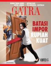 Cover Majalah GATRA ED 46 September 2018