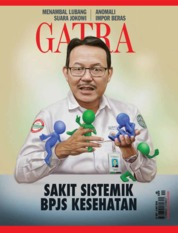 Cover Majalah GATRA ED 48 September 2018