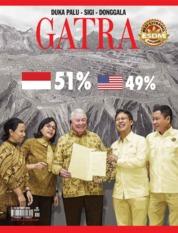 Cover Majalah GATRA ED 49 Oktober 2018