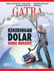 Cover Majalah GATRA ED 50 Oktober 2018
