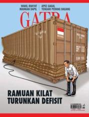 Cover Majalah GATRA ED 04 November 2018