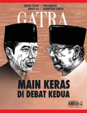 GATRA Magazine Cover ED 15 February 2019