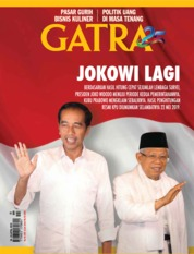 Cover Majalah GATRA ED 25 April 2019