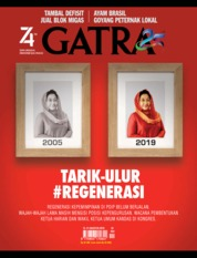 Cover Majalah GATRA ED 42 Agustus 2019