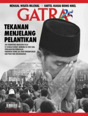 Cover Majalah GATRA ED 48 September 2019