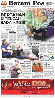 Cover Batam Pos 19 Maret 2018