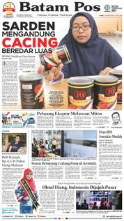 Cover Batam Pos 22 Maret 2018