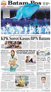 Cover Batam Pos 05 April 2018