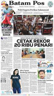 Cover Batam Pos 07 April 2018