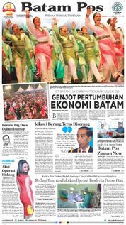 Cover Batam Pos 08 April 2018
