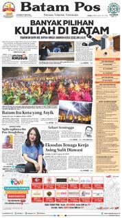 Cover Batam Pos 09 April 2018