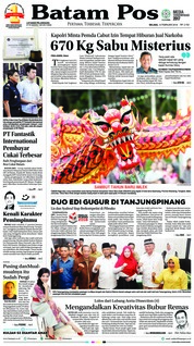 Cover Batam Pos 13 Februari 2018