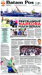 Batam Pos Cover 21 February 2018