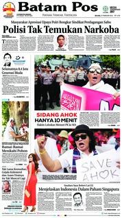 Cover Batam Pos 27 Februari 2018