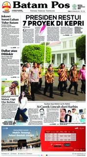 Cover Batam Pos 28 Februari 2018