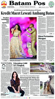 Cover Batam Pos 21 April 2018