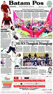 Cover Batam Pos 02 Mei 2018
