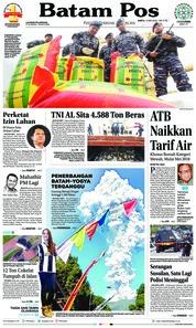 Cover Batam Pos 12 Mei 2018